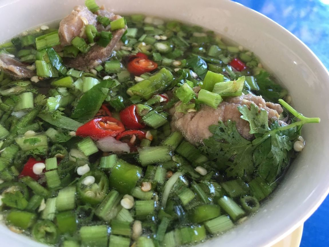 Bowl Food Vegetable Thai Food Thai Soup Chilli Spring Onion leng