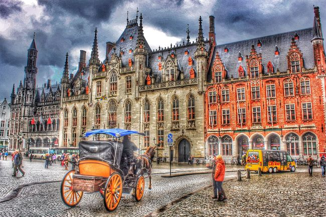 First Eyeem Photo HDR Hdr_pics Hdrimage Hdrphotography Hdr_Collection Hdr_arts  Brugge Belgium City City Life City Street Romantic❤ Journey Medieval City Journey Colors