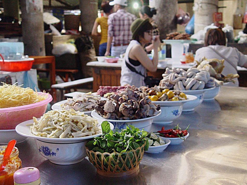 Vietnam Selling Food Stall RePicture Travel Brunch Around The World The Moment - 2015 EyeEm Awards Mealtime Tantalize Your Tastebuds Up Close Street Photography Street Market