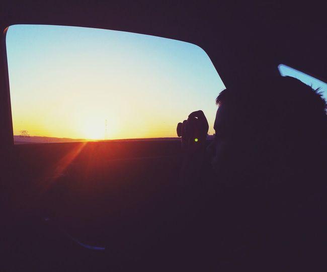 Sun Sunset Car Boy march 2014