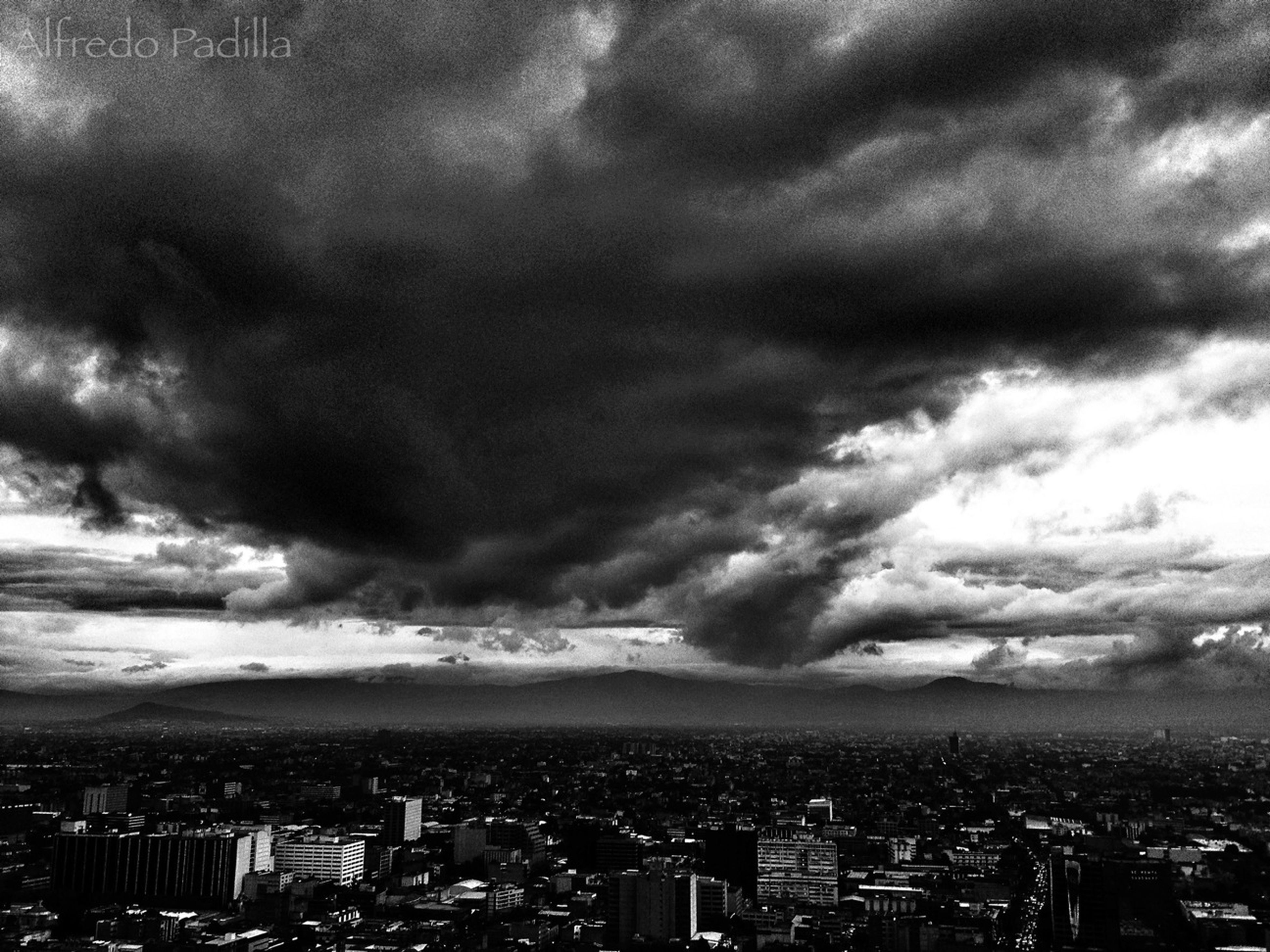 Claund Blackandwhite Clouds And Sky