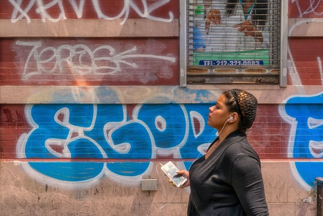 Deep in the Groove The Street Photographer - 2016 EyeEm Awards Streetphotography Streetphoto Urban Photography New York City Streetphoto_color Street Portrait New York Candid Portraits Washington Heights