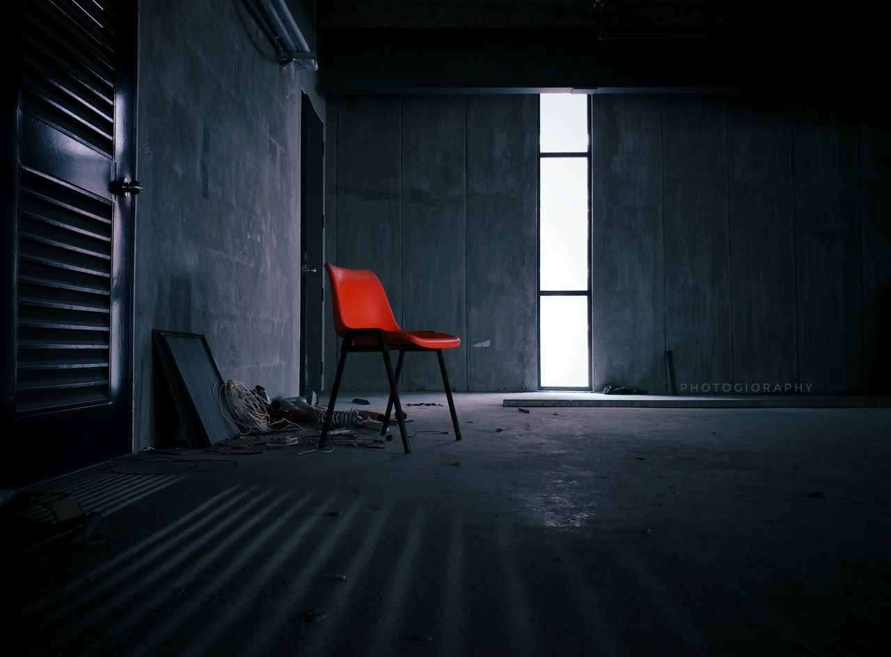 The Secret Spaces EyeEmNewHere Abandoned Places Empty Space Red Chair Hot Seat Dark Space Dark Room Creepy Places Space Room Sunlight Mobilephotography Phone Photography Red Cold Room Minimalism Minimalistic Mobile_photographer Mobile Phone Photography Bestoftheday Photooftheday Photography Follow4follow Followback The Secret Spaces Break The Mold