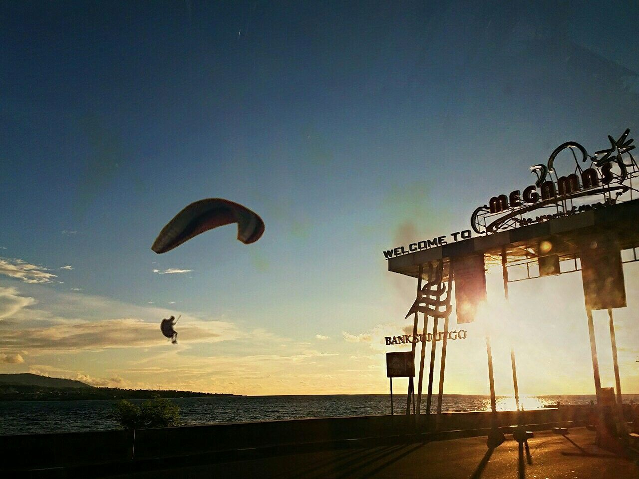 """Cut And Paste """" random exposure"""" Extreme Sports Outdoors Silhouette City View  Boulevard Wonderful Indonesia Beauty In Nature Dramatic Sky Exposure Sunset"""