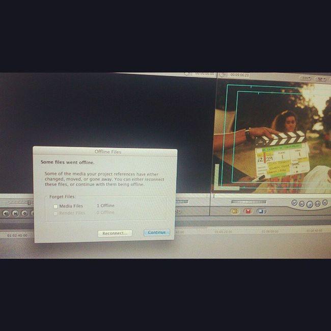 Mi proyecto de sincro... Ciné Posproduccion FinalCutPro cinevenezolano Guárico Venezuela