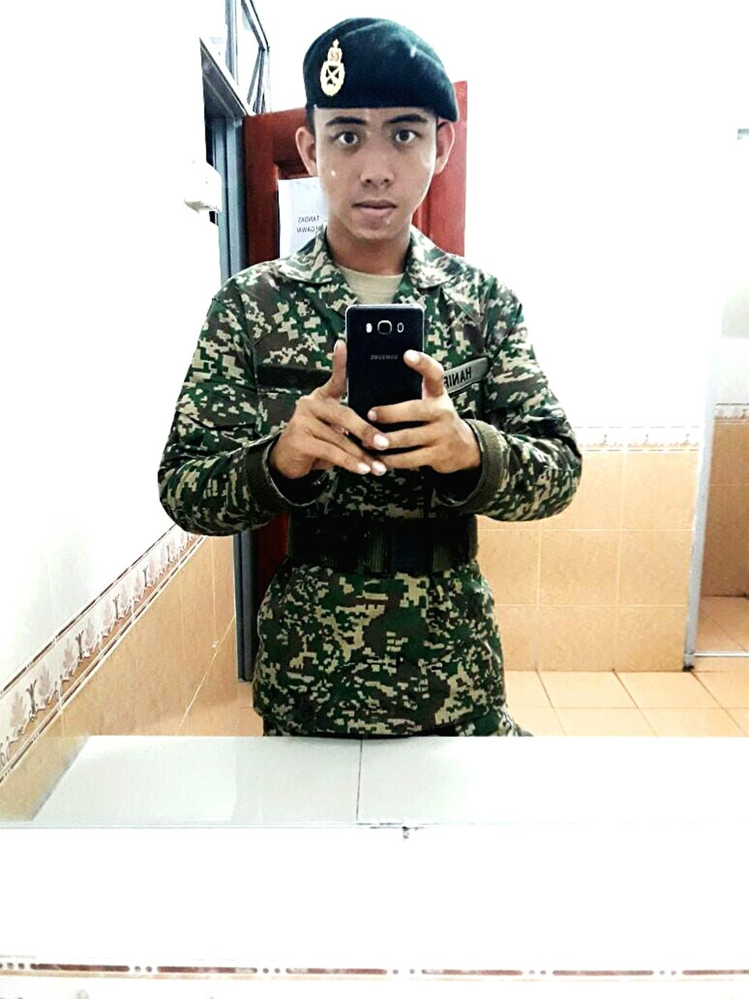 Love you Mr. Army. Untiljannah Myfuturehusband