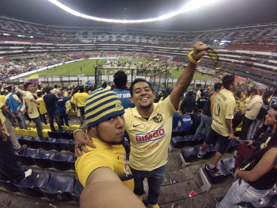 Final América vs tigres-15 dic 015 Campeon 12 Brotherhood La Monumental Monu 16