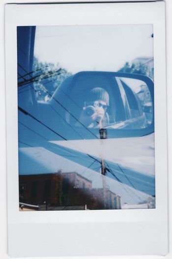 Double Exposure Fuji Instax The View From My Window Me, My Camera And I