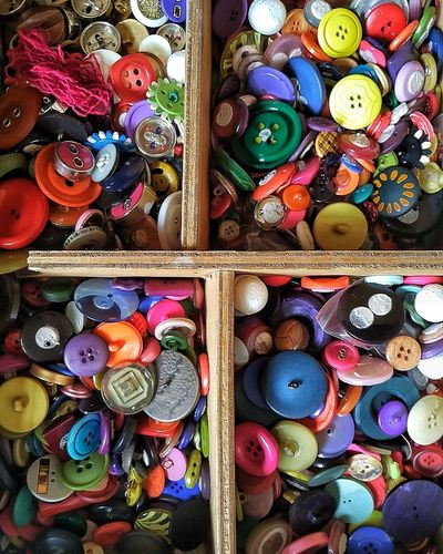 Multi Colored Variation Abundance Large Group Of Objects No People Buttons EyeEmNewHere