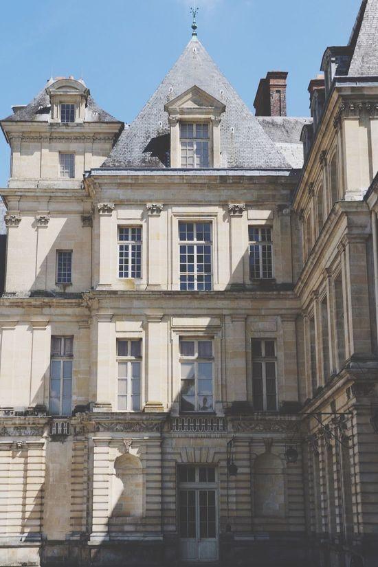 Fontainebleau Paris Château Château De Fontainebleau Lights Architecture Architecture_collection Shadow Shadows & Lights