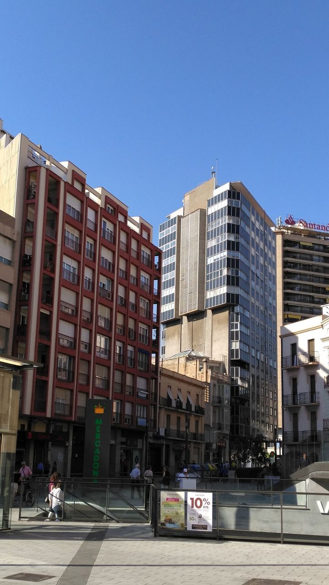 Tarragona, Spain Sin Filtros The Street Photographer - 2017 EyeEm Awards Huawei Photography Architecture Business Finance And Industry Building Exterior Day City Outdoors Clear Sky Sky People Cityscape