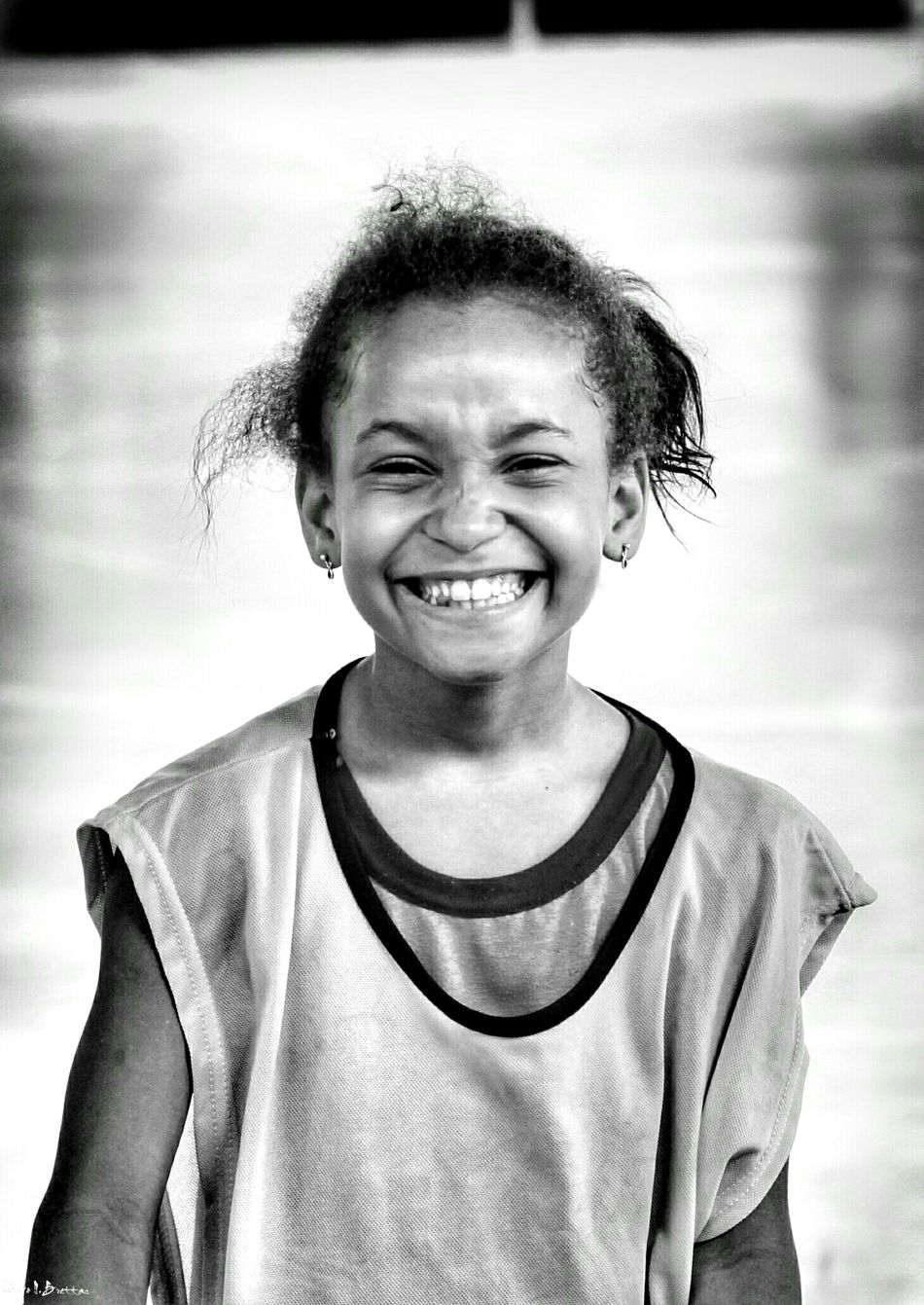 Portrait Looking At Camera Smiling Real People Happiness Lifestyles Cheerful Childhood One Person Close-up People Happiness Freshness Children Photography Social Documentary School Life  Black And White Leisure Activity Black & White Social Photography Relaxation Light And Shadow