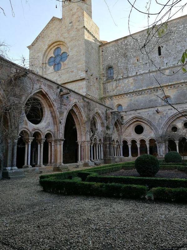 El Claustro de la Abadía de Fonfeidre