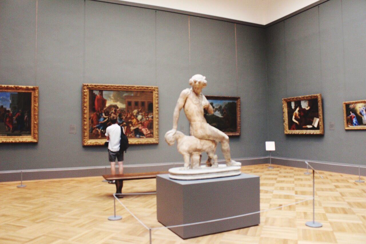 Lost in paintings Sculpture Human Representation Indoors  Museums Artandculture Peopleandart