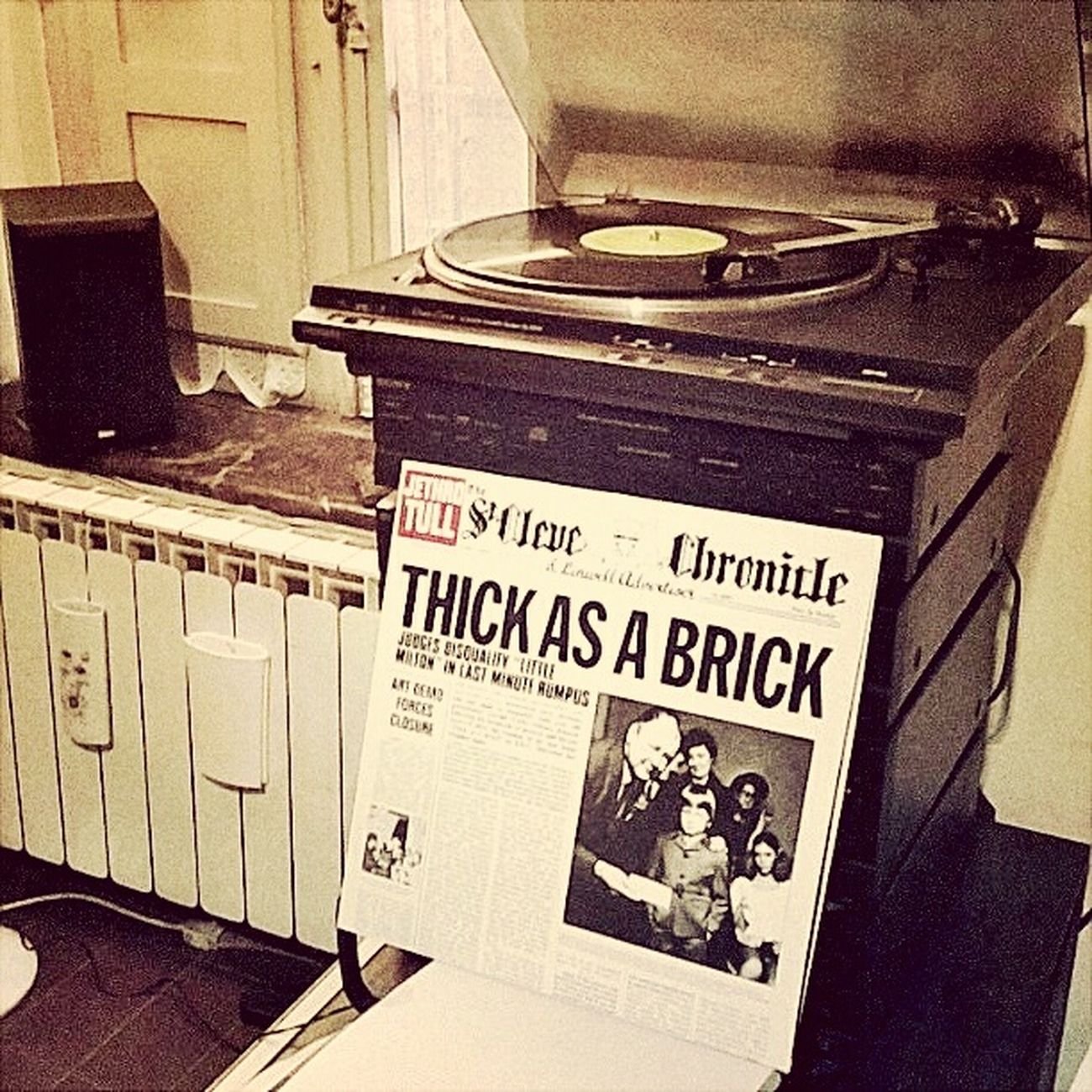 Vinyl Records Vinile Progressive Rock Jethro Tull Thick As A Brick