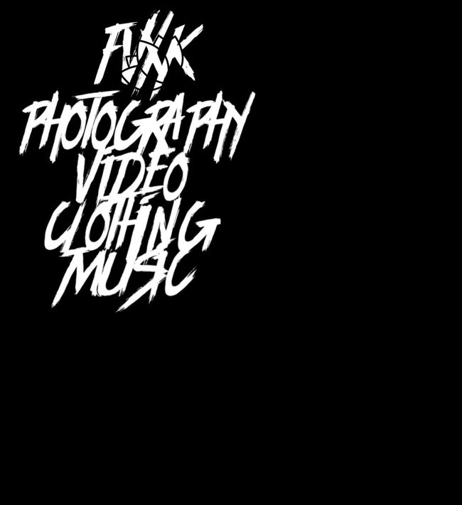 FVXK is growing by the hour 🙏🙏🙏✌️✌✌ FVCKPhotography FVXK New World Order Label Communication Western Script Text Studio Shot Copy Space Black Color Black Background Illuminated