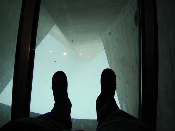 Adult CN Tower Day Human Body Part Human Leg Indoors  Lifestyles Low Section Men People Real People Standing Standing On Glass Floor Two People