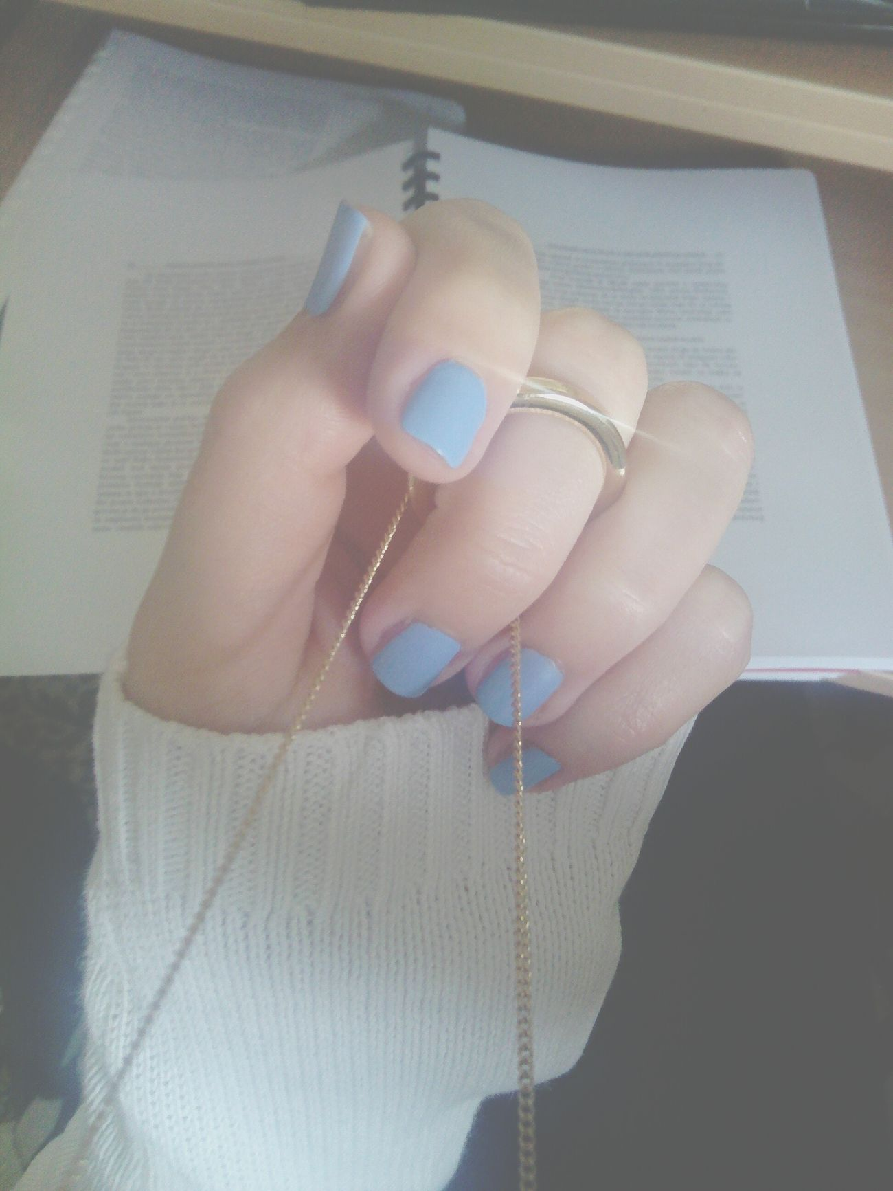 Pastel Colours Nailswhile studying Psychology; Bowlby, Attachment Theory