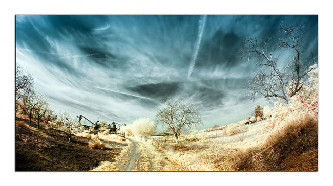 8mm Canon400d Fun Infrared Infrared Photography Landscape Photoshop Travelling