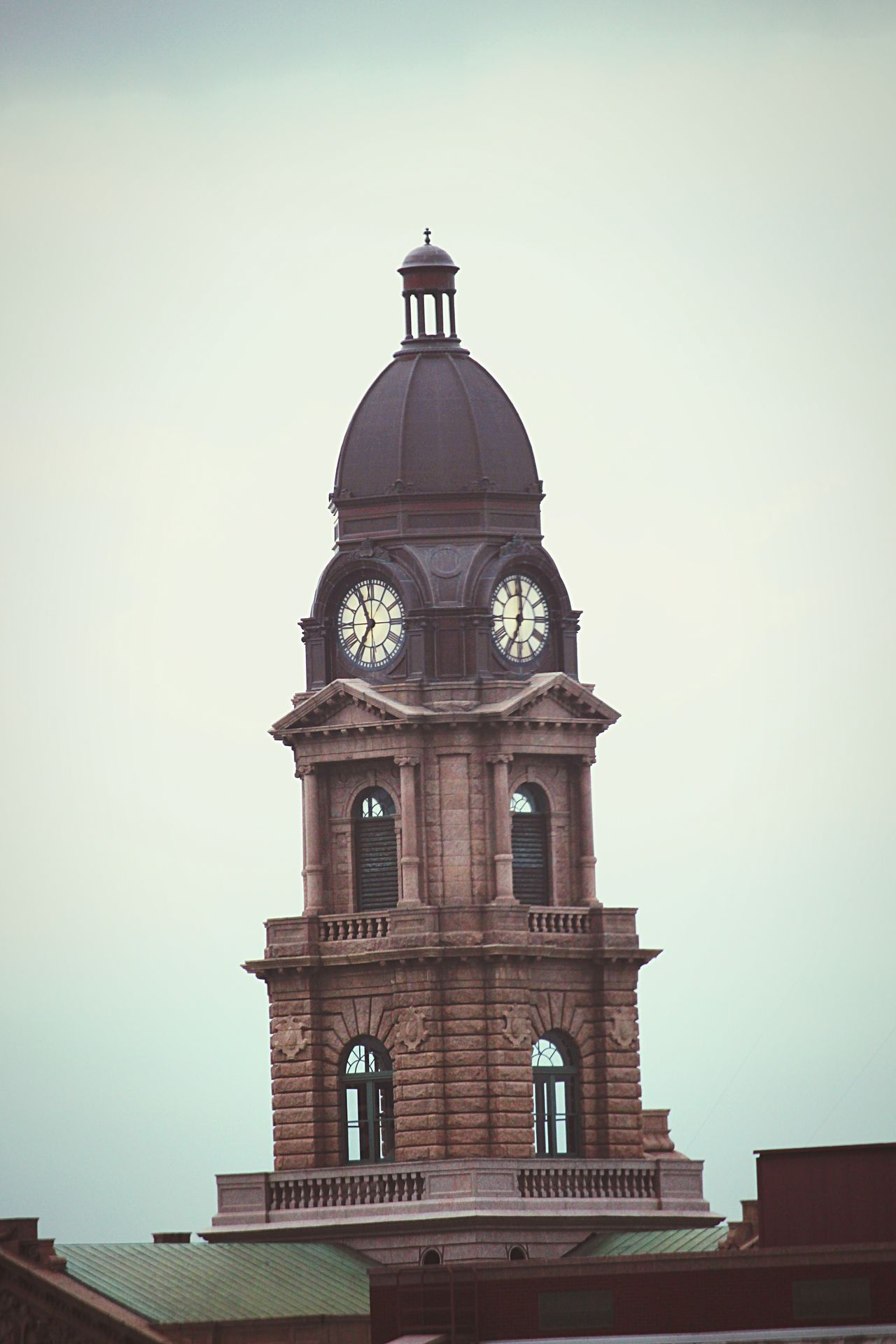 The Architect - 2016 EyeEm Awards Clock Tower Architecture Architectural Detail Cityscapes Fort Worth Cityscape