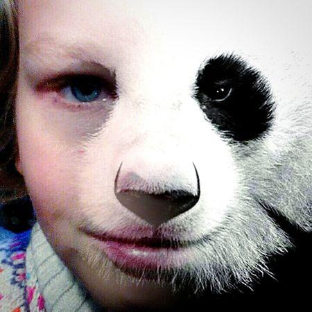 pandamädchen Tier-mädchen Tiere Tierisch