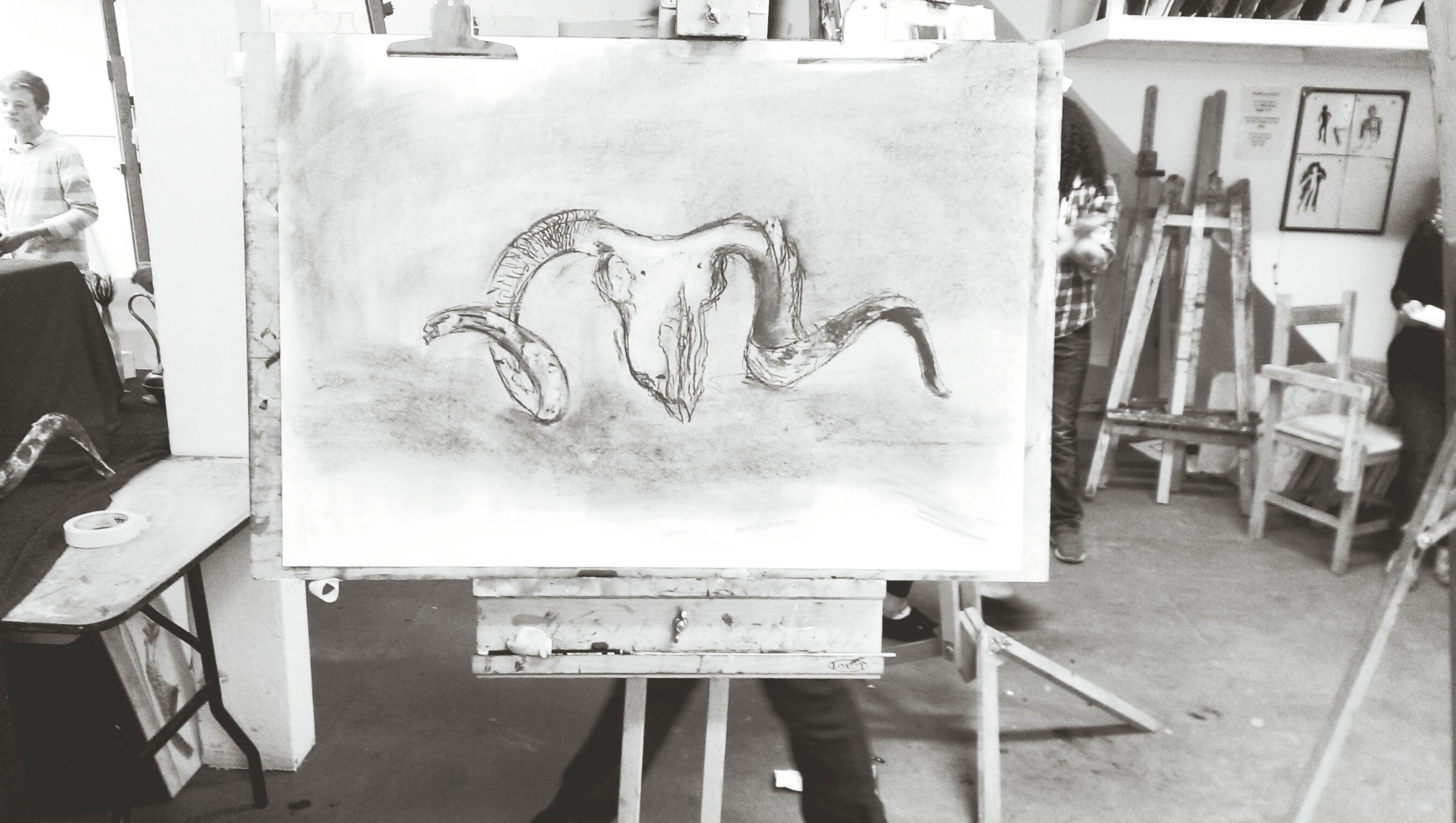 Art, Drawing, Creativity Black & White