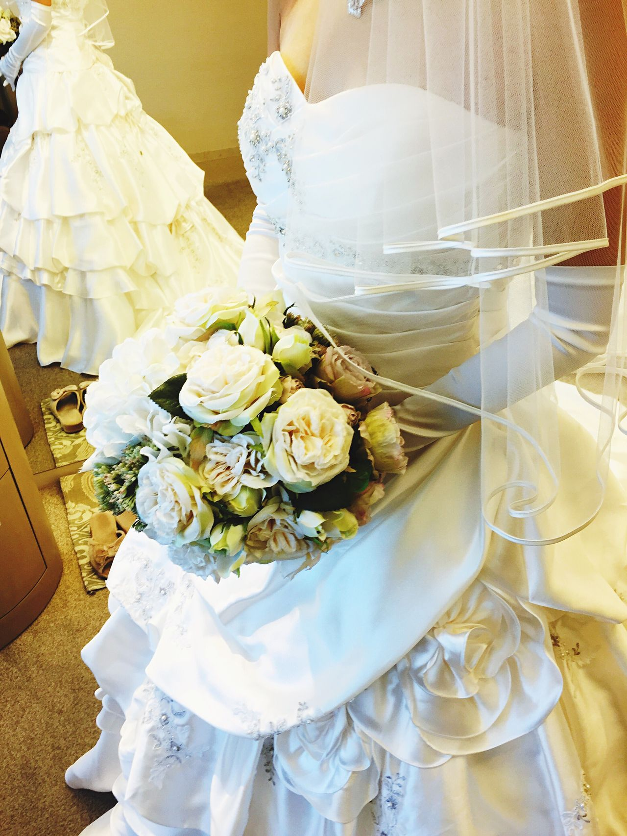 Wedding Bride Flower Wedding Dress Celebration 結婚 ウェディング ウェディングドレス 花 ブーケ Bouquet 花束