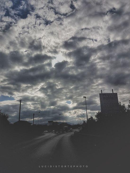 Nature Dramatic Sky Cloud - Sky No People Lucidistortephoto Samsung Galaxy S7 Eboli
