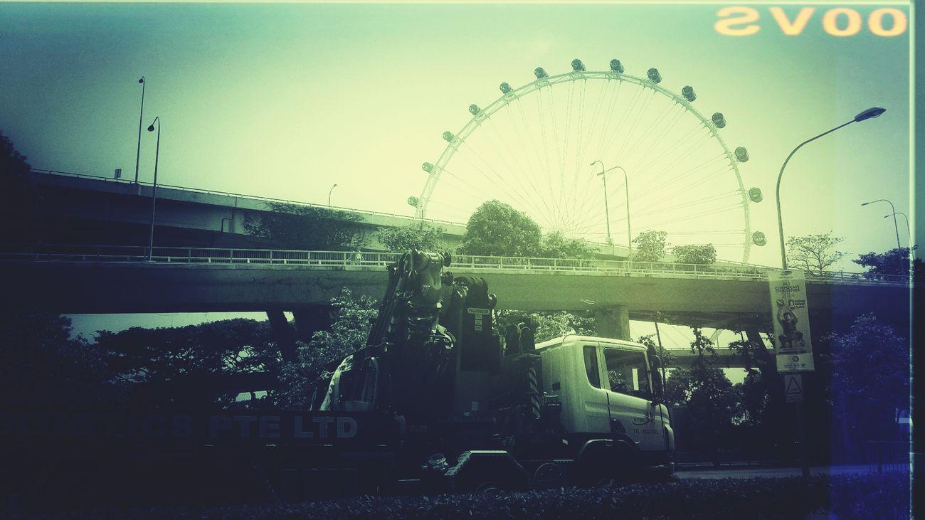 Highway Sjngapore Eye Long Vehicle Singapore Roads