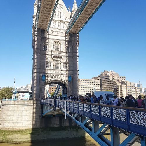 Architecture Built Structure Building Exterior Clear Sky City Tower Bridge - Man Made Structure Famous Place Outdoors City Life Tower Bridge  In London People And Places London Lifestyle EyeEm LOST IN London