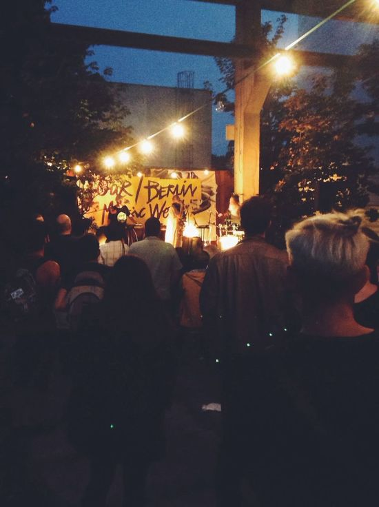 """20h - """"First We Take The Streets"""" - day 2 : Sandra Kolstad Firstwetakethestreets Our/Berlin festival"""