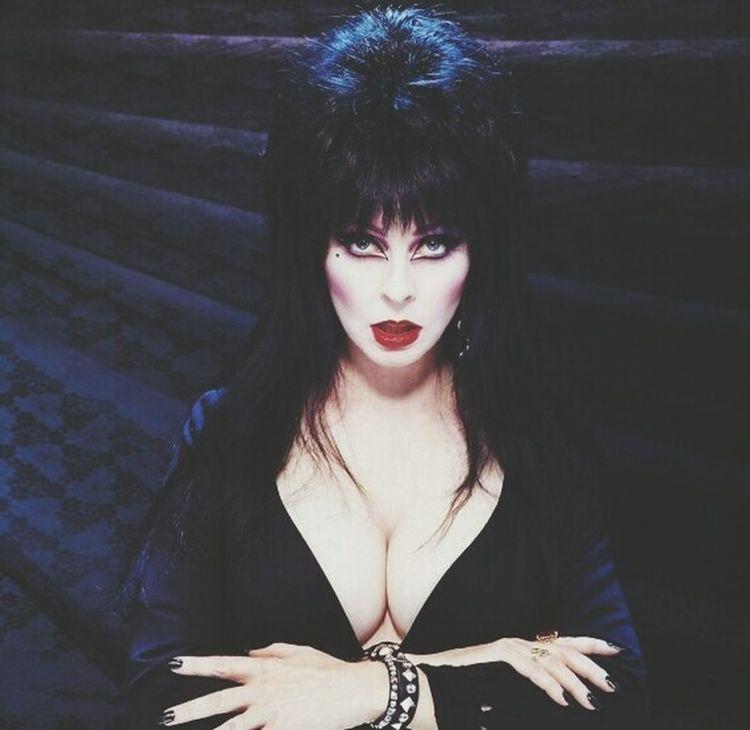 Elvira  Mistressofdarkness Gayicon Goth