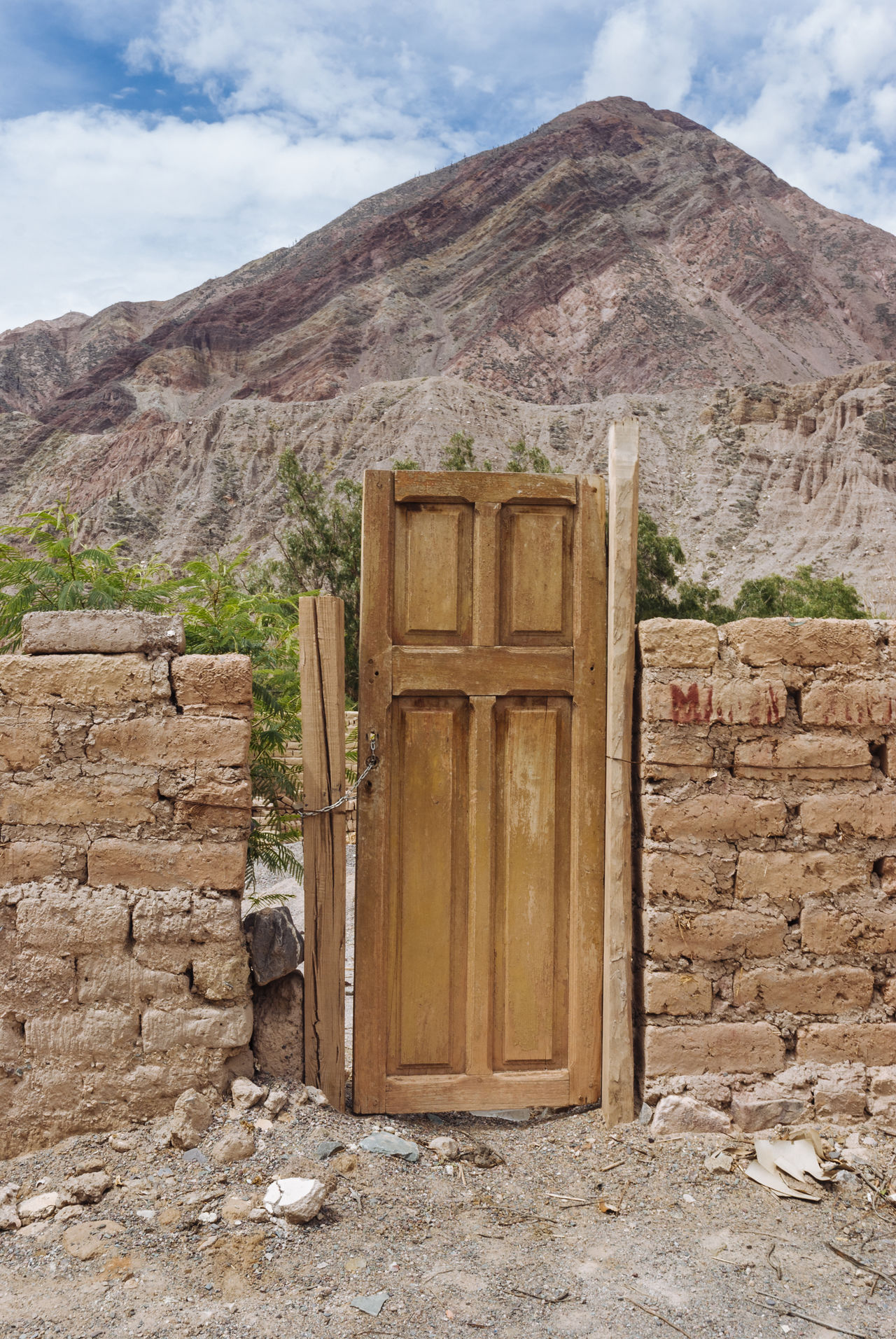 Andes Argentina Built Structure Door Jujuy Province Landscape Mountain Outdoor Scenics Tourism