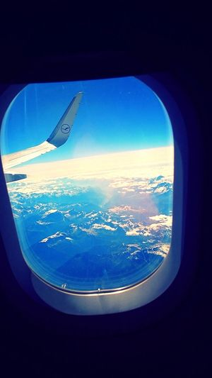 Flying over Tuscany
