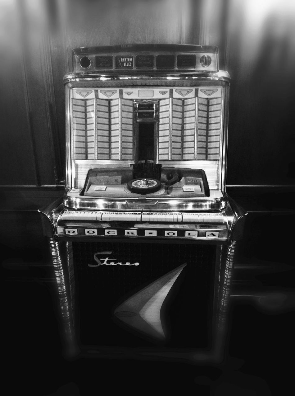 Camera - Photographic Equipment Close-up Day Fifties Focus On Foreground Mid Century Modern Musicbox No People Retro Styled Selective Focus Vintage Wurlitzer