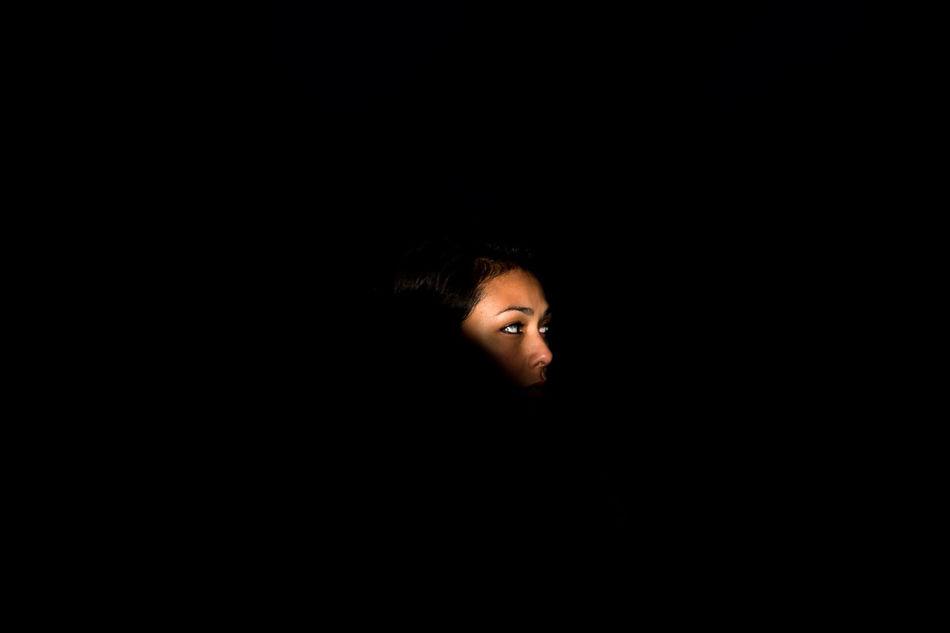 Black Background EyeEm Best Shots EyeEm Best Shots - Nature EyeEm Masterclass Headshot My Year My View One Person PNW Portrait Spotlight Women Around The World Welcome To Black Long Goodbye