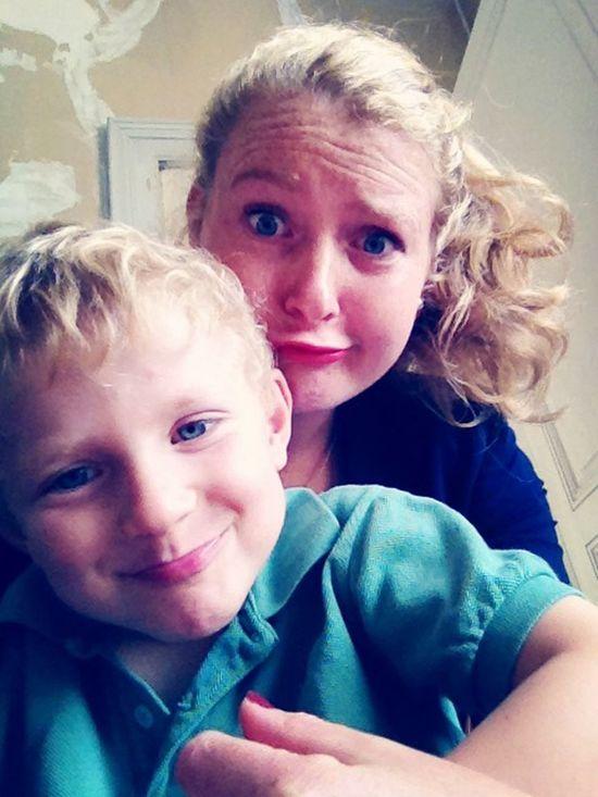 Brotherpic' Selfie Brother&sister  Duckface