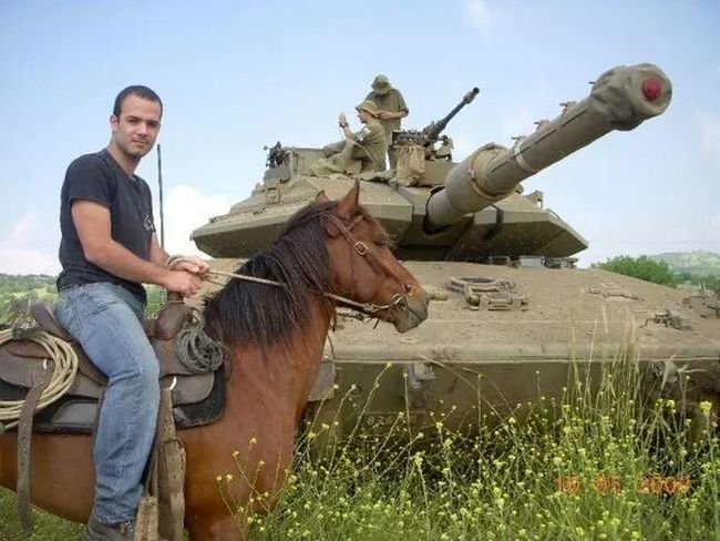 GolanHeights Israel Horse Israel Defence Force