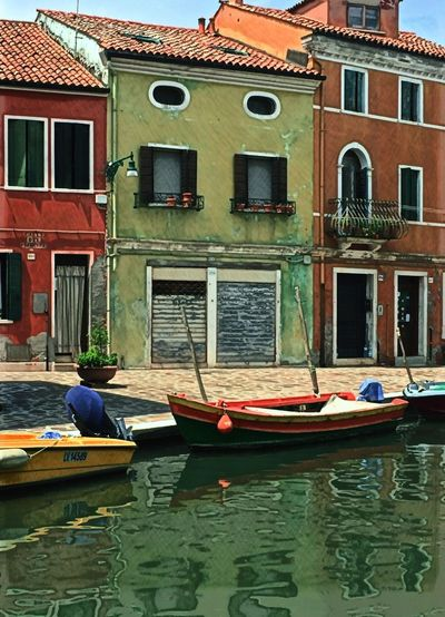 Burano, Italy — a city of color Eye On Travel Nautical Vessel Transportation