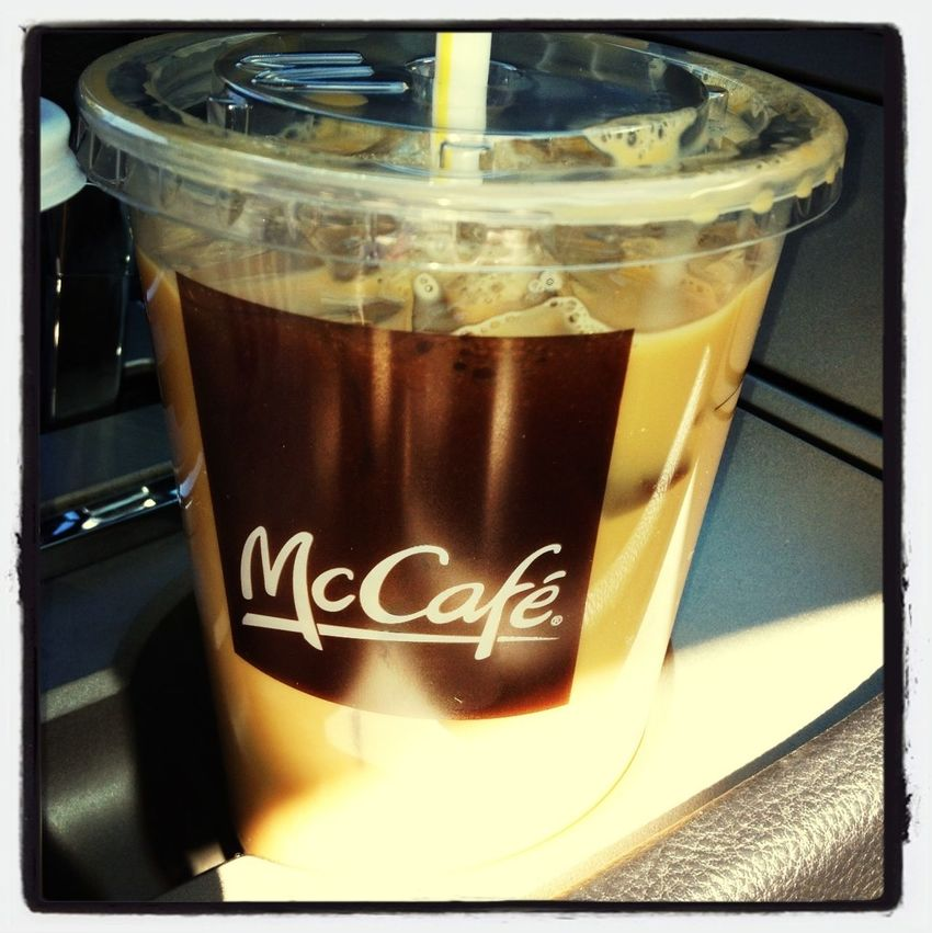 My hubby getting me my caffeine fix! Love him!