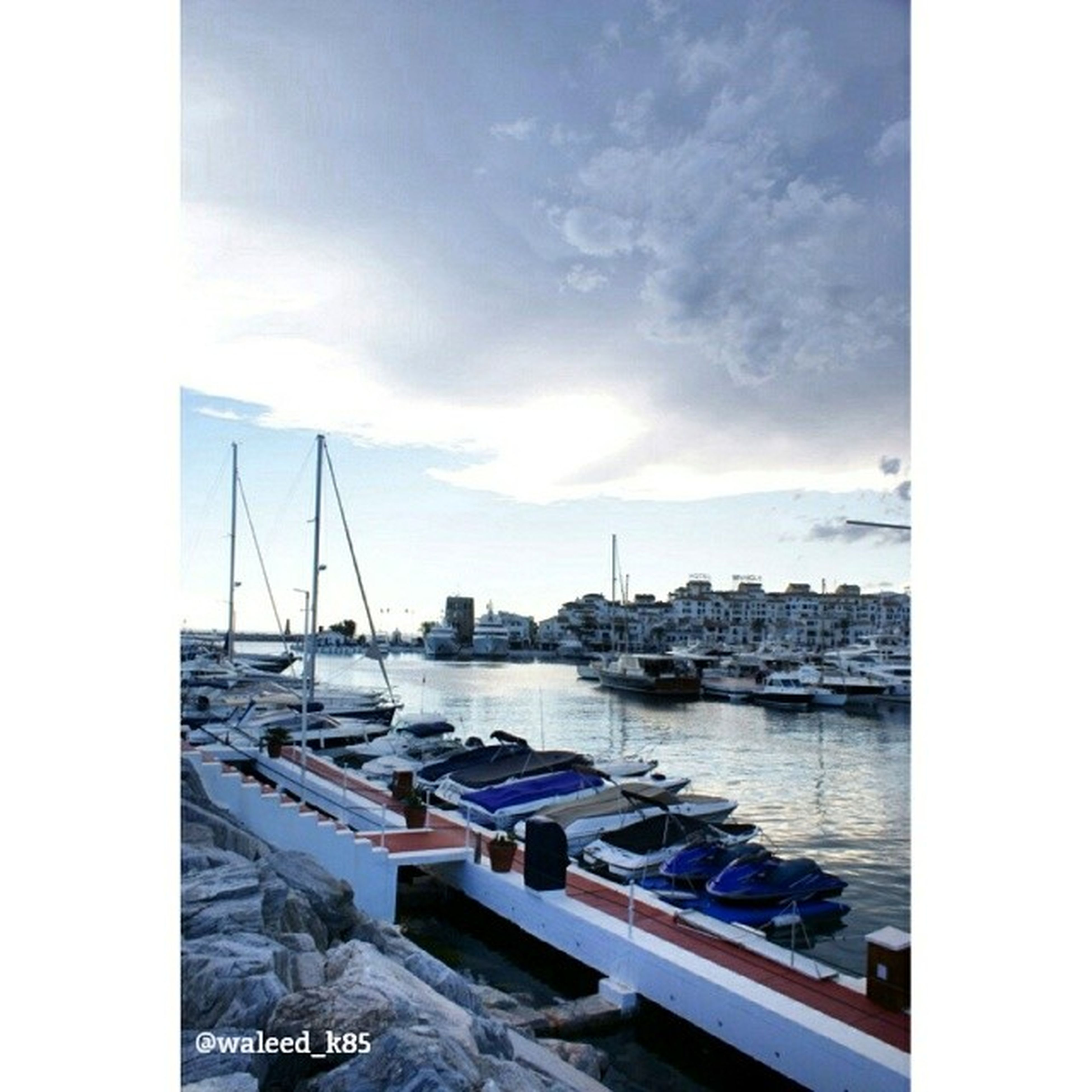 nautical vessel, transportation, mode of transport, boat, moored, water, harbor, sky, mast, sea, sailboat, transfer print, cloud - sky, travel, auto post production filter, yacht, cloud, river, waterfront, marina