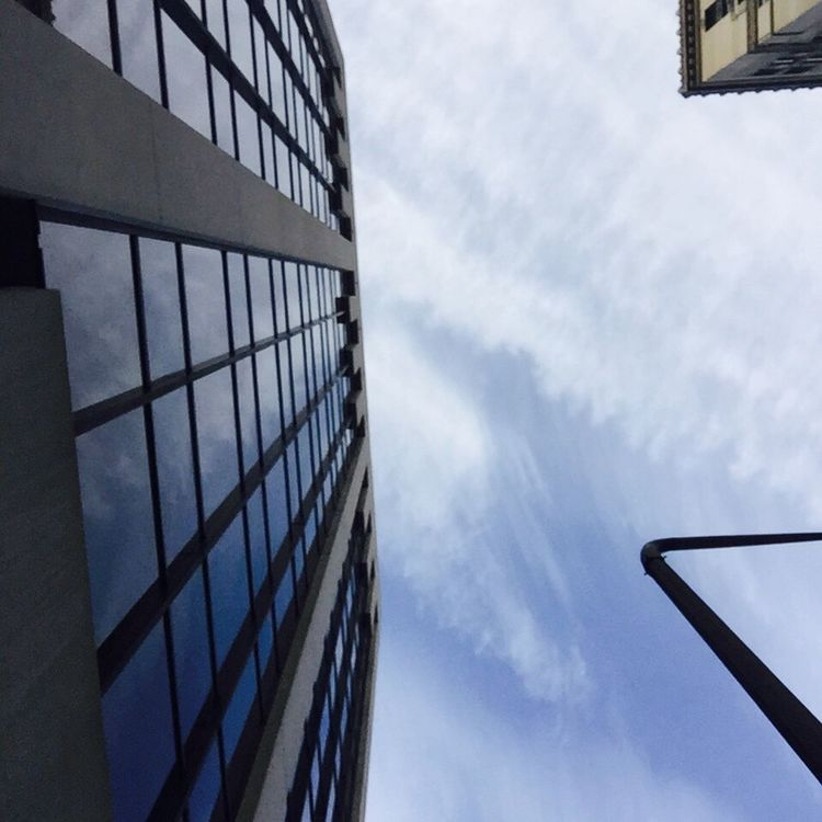 Skies the limit! Iphone6plus Downtown Niceday!