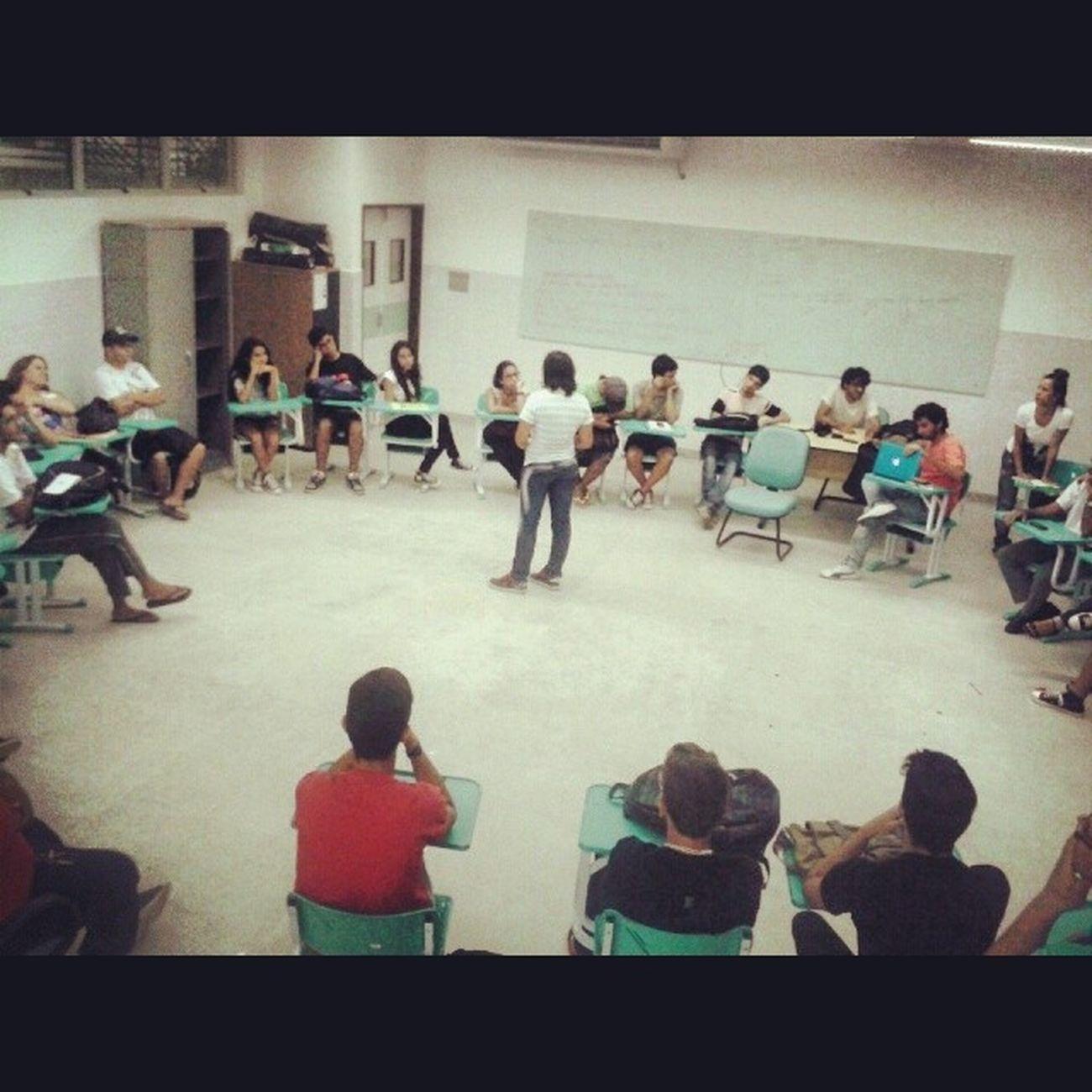 Rolando a ultima atividade do Mobiliza Design. Mesa redonda sobre o movimento estudantil no IFPB MobilizaDesign
