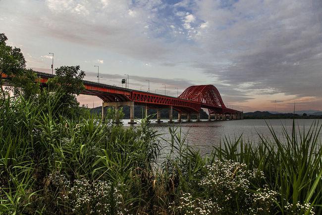 Bangwha Bridge Sky Sunset Han River Seoul South Korea Korea Cloud The Architect - 2016 EyeEm Awards