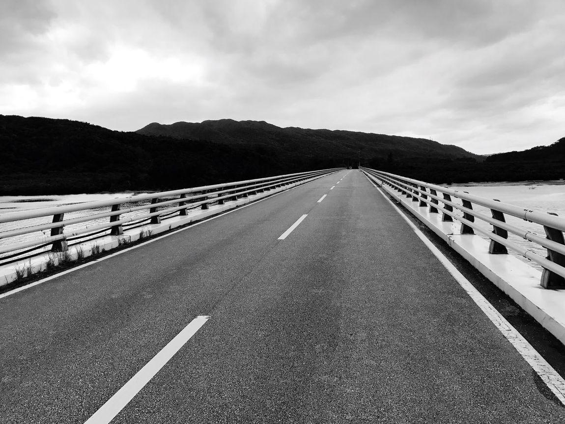 Road Open Road Bridge The Way Forward Iriomote Iriomote Island Day