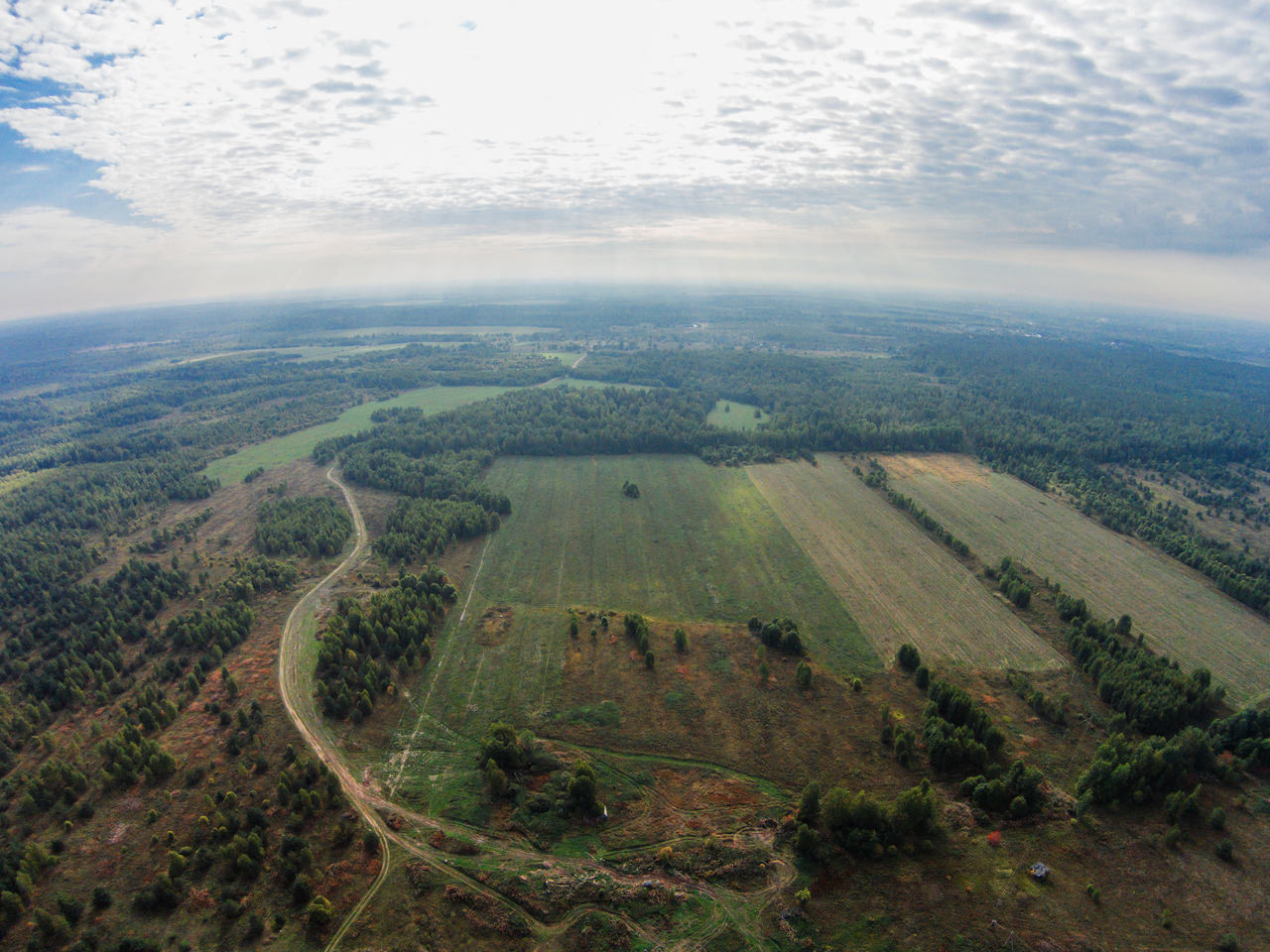 Morning haze over the land. View on the field and the forest of the Tver region. A Bird's Eye View Aerial View Agriculture Beauty In Nature Day Dji Dji Phantom Dronephotography Field Green Color Growth Landscape Nature No People Outdoors Road Russia Scenics Sky Sunlight Tree