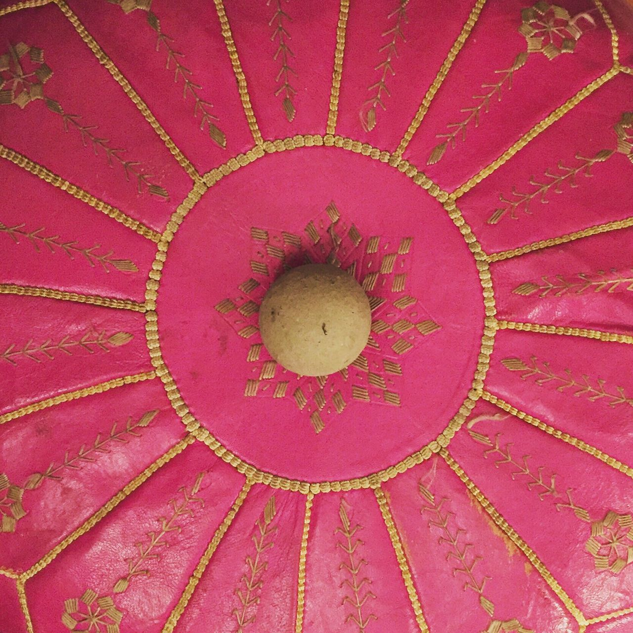 Pouffe Pink Concrete Ball
