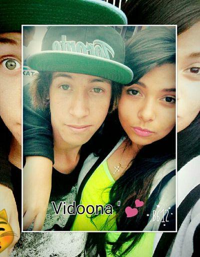 - Migooh Amor Meu 😍💞 te Amo Vidiinha ' 🍀✋ First Eyeem Photo