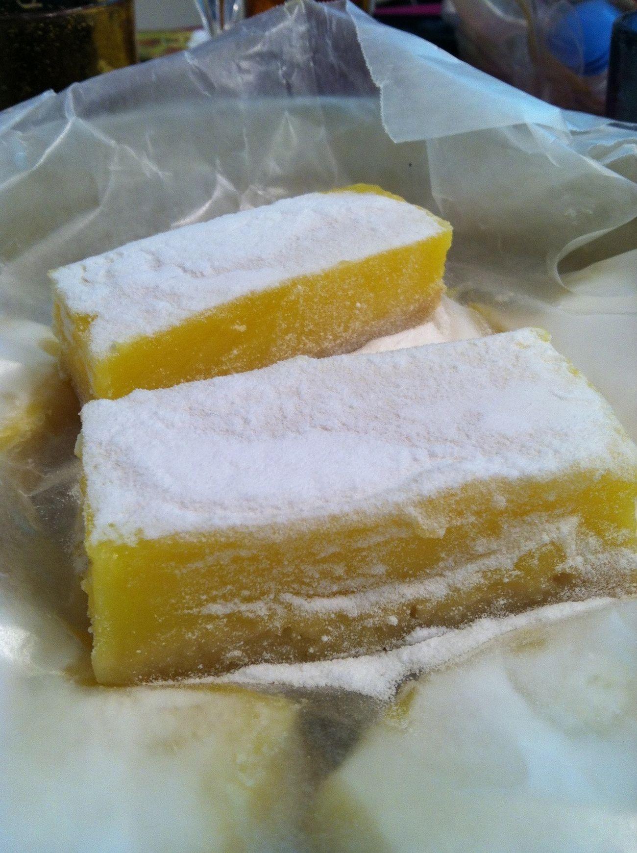 Aunts handmade lemon bars