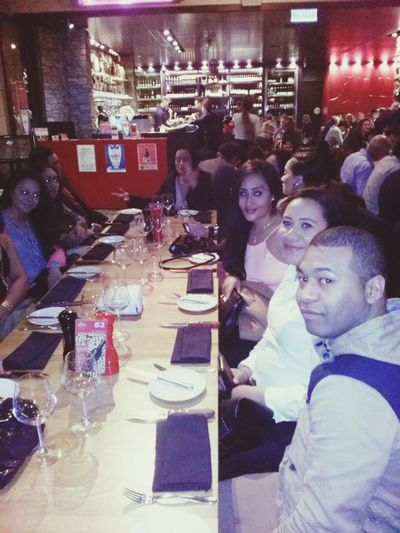 Traceys bday waiting for din din Sydney Birthday Beautiful Ladies Hungry